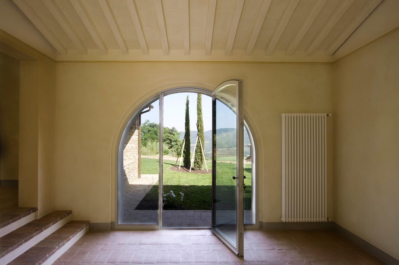 Porte in acciaio inox corten bronzo co me p infissi acciaio inox corten bronzo serramenti - Porte ad arco ...